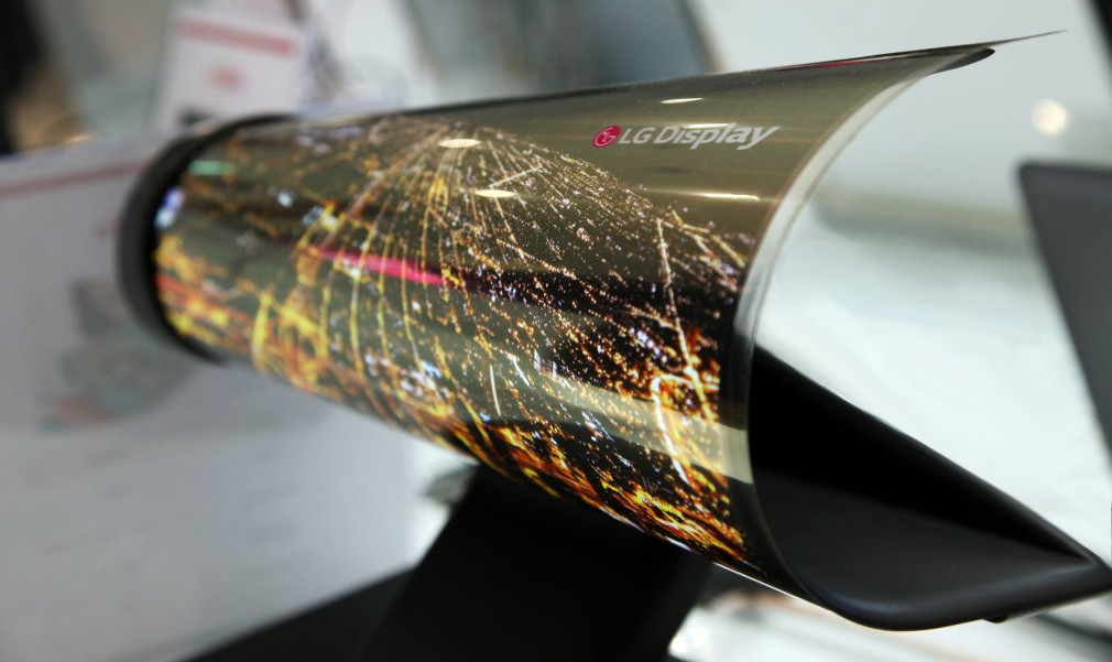Samsung has a new vision for bendable touch devices